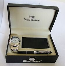 Men Watch, Pen, Wallet, Gift Set Quartz Analog Battery Dress Mark Naimer