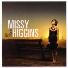 "MISSY HIGGINS ""OnAClearNight"" 2007 11Trk CD ""WhereIStood,Steer,Peachy,WrongGirl"""