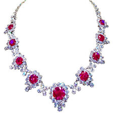 NINE GRS CERTIFIED RUBY NECKLACE CERTIFIED NATURAL 10.