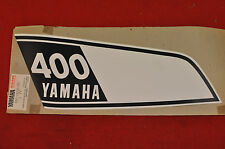 NOS 1975-76 Yamaha DT400 LEFT Fuel Tank Decal, DT 400