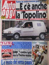 Auto OGGI n°3-4 1986 Test Rover 825 Sterling - Hyunday Pony 1.5 [Q202]