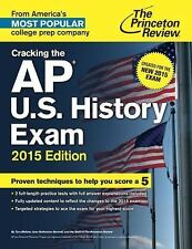 Like New  AP US History Exam 2015 Princeton Review High School Test Study Guide