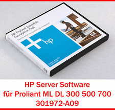 HEWLETT PACKARD HP SOFTWARE PROLIANT ML DL 300 500 700 SERIES 301972-A09 - S5