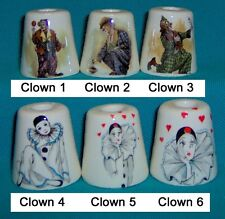 3 Clown Mime Circus Cigarette Snuffers 180 Designs