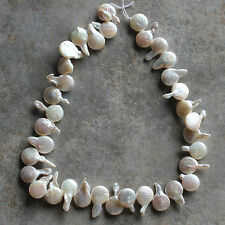 Fresh Water Pearl  Teardrop-shaped Beads Strand, for crafting & jewelry