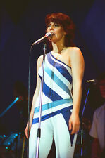 "10""*8"" concert photo of Anni-Frid Lyngstad, ABBA, playing at Wembley in 1979"