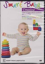 SMART BABY - COUNTING - TIME TO LEARN ABOUT NUMBERS AND COUNTING - DVD - NEW