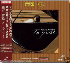 "Chie Ayado ""To You"" Japan JVC SHM-XRCD XRCD24 CD Limited Numbered Edition New"