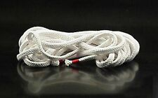Soft white cotton bondage rope, shibari, 15 metres, 7mm thick