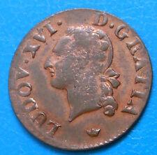 Louis XVI liard 1791 M TOULOUSE