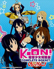K-On! Season 1 + 2 + The Movie + 5 OVA 4 DVD Box Set Eng Sub Japanese Anime