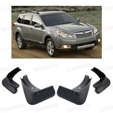 Front & Rear Mud Flaps Splash Guard Fender Mudguard for Subaru Outback 2010-2014