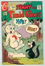 Timmy the Timid Ghost #5 August 1968 VG  Skunk cover