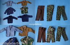"Vintage 12"" Hasbro G.I. Joe Doll Clothes Lot 1960s Tagged GI Joe Adventure Army"