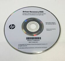 Driver Recovery DVD - HP ProDesk 600 EliteDesk 800 G1 (Free Windows 7 SP1 Disc)