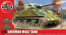 Airfix A01303 M4 Sherman MkI Tank Kit scale 1/76 New Boxed FREE 1st Class Post