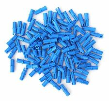 LEGO Technic LOT 100 pcs AXLE PIN Connector Blue Mindstorms Part Piece 43093 set