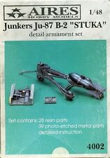 AIRES 4002 Detail armament set Junkers Ju87 B2 Stuka scala 1/48