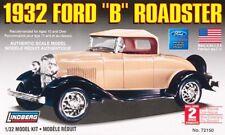 Lindberg [LND] 1:32 1932 Ford B Roadster Plastic Model Kit LND72150