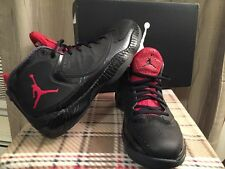 Mens Nike Air Jordan 2012 A BLACK/VARSITY RED SZ 10.5 Retro 1 31 27 3 Bulls Xi