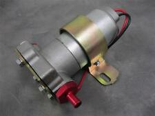 """High Flow Performance 115 GPH Electric Fuel Pump Universal Fit 3/8"""" Red Fittings"""