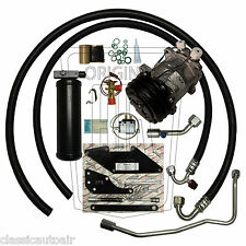 71-72 CHARGER SMALL BLOCK AC COMPRESSOR UPGRADE KIT A/C Air Conditioning 134a