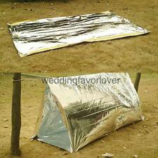 Portable Folding Emergency Camping Shelter Tent Outdoor Survival Tools