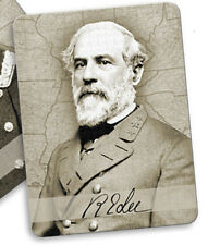 Confederate Legend General Robert E Lee Changing Image Fridge Magnet Note Holder
