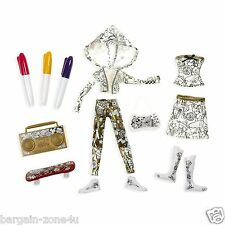 Moxie Girlz Fashion Design Kit Kids Girls Doll Clothes Painting Art Activity