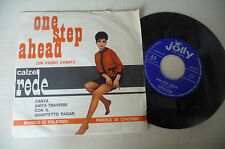 "ANITA TRAVERSI""ONE STEP AHED-disco 45 giri JOLLY 1963"" PUBBLICITARIO"
