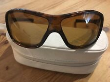 Oakley Ideal Polarized Brown Tortoiseshell Sunglasses With Case