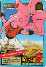 CARTE DRAGON BALL LE GRAND COMBAT N-¦ 597 BOUBOU POWER LEVEL 9