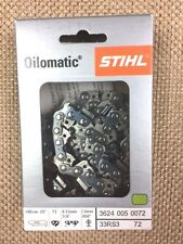 "Stihl 33RS3-72 20"" Chainsaw Chain. Fits STIHL, Husqvarna and other brands."