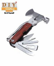 DIY Crafts™ Multifunctional Pliers Ax/Screwdriver/Safety Hammer/Camping DIY Tool