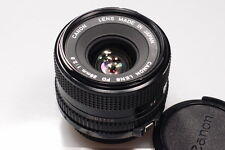 CANON FD 28mm 2.8 WIDE ANGLE LENS W/CAPS EXCELLENT++++