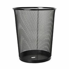 New Wastebasket Trash Can Garbage Mesh Bin Waste Basket Office Desk Bedroom .