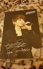 Super junior ryeowook OFFICIAL Postcard Kpop k-pop exo vixx btob got7 bts jjcc