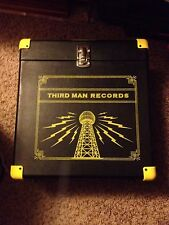 Third Man Records LP Storage Box Vinyl Carrying Carrier Case RARE OOP Jack White