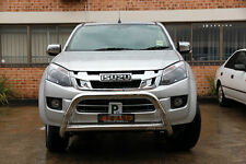 "Isuzu D-Max DMAX Nudge Bar 3"" Stainless Steel Grille Guard 2012-2017 A12CLOD"