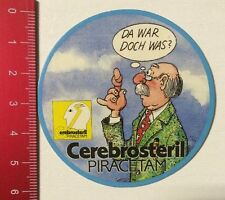 Aufkleber/Sticker: Cerebrosteril Piracetam - Da War Doch Was (1703166)