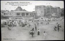 FRANCE~ 1918 DINARD  ~ CASINO AND ROYAL HOTEL ~ Plage ~ Beach ~ AFTERNOON TEA
