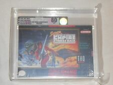 NEW Super Star Wars The Empire Strikes Back Super Nintendo VGA 80 NM SNES Game