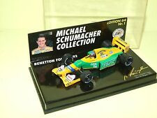 BENETTON FORD B192 GP DE SPA 1992 M. SCHUMACHER MINICHAMPS 1:64