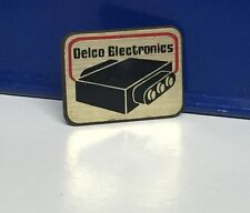 Vintage Delco Electronics Pin HatPin Lapel Pin
