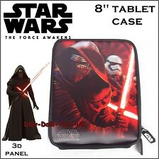 "New STAR WARS 8"" Tablet Case Suitable For iPad Mini 3D Holographic Kylo Ren"
