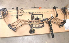 Bear BR33 55-70# RH BR-33 Compound Bow Package Coyote Brown Limited Edition RTH