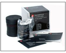 New Leica Summilux-M 50mm f/1.4 6 bit black #11891 for M240 M10 M9