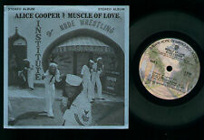 "7"" ALICE COOPER MUSCLE OF LOVE MINI LP MADE IN USA JUKE BOX LLP #235 WB S 2748"