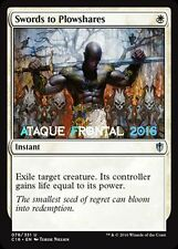 MTG SWORDS TO PLOWSHARES - Espadas en guadañas - COMMANDER 2016 ENGLISH NM