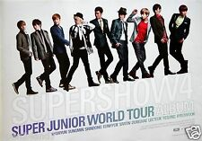 "SUPER JUNIOR ""SUPERSHOW4 - WORLD TOUR"" THAILAND PROMO POSTER - Group In A Line"